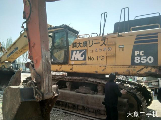 小松 PC850-8 挖掘机